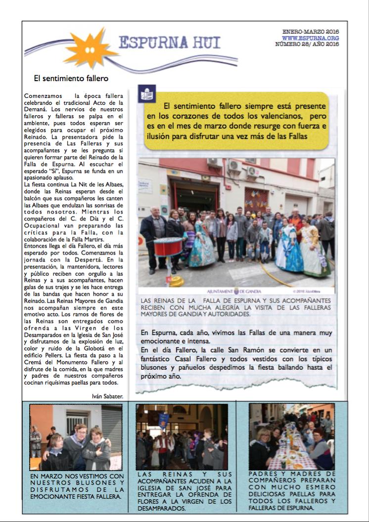 Revista Espurna Hui Marzo 2016