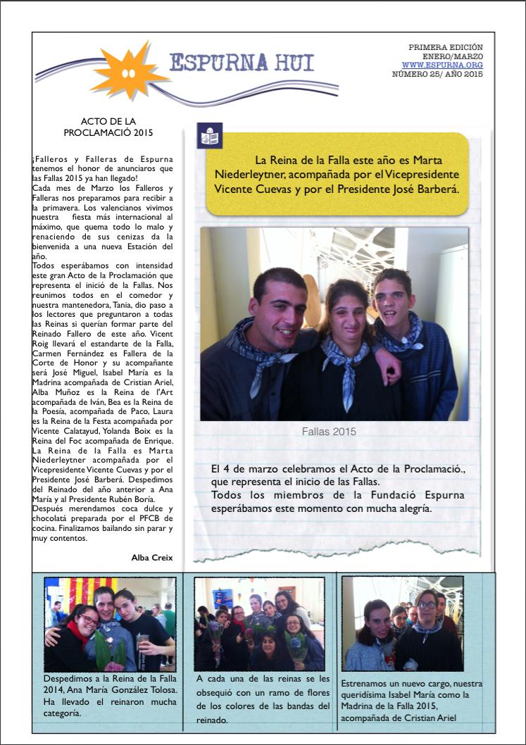 Revista Espurna Hui Marzo 2015